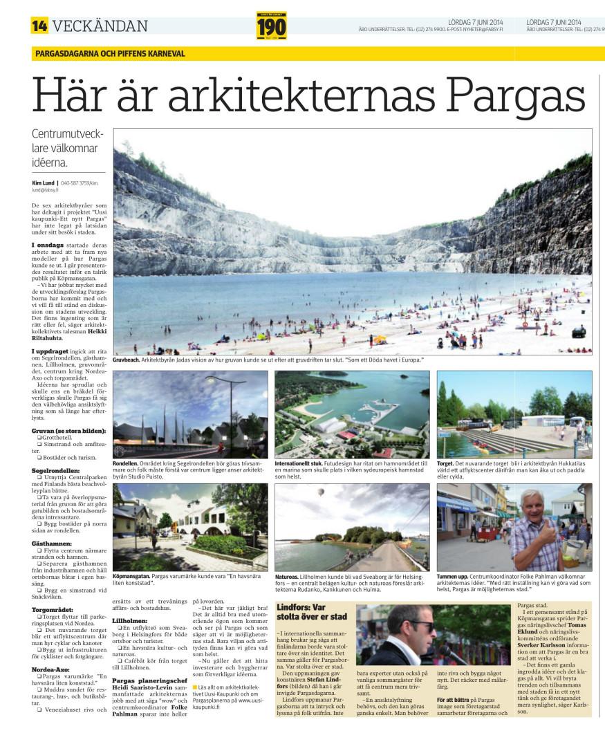 Åbo underrettelser 7.6.2014 sivu 14-15
