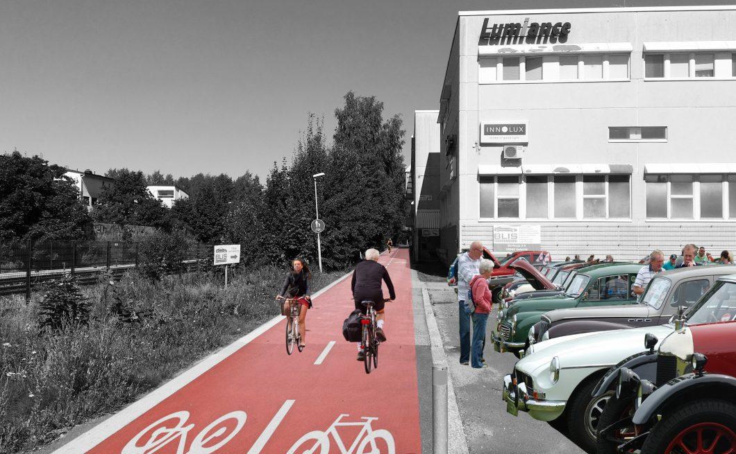 Mellunkylän visio 2035 – Kurkimäen kohtaamispaikka tilapäistoiminnot 2 – image credit JADA Oy